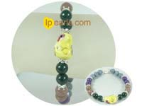 8mm colorful gemstone bracelet of Chinese Zodiac