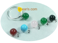 8mm round green agate sit atop 925silver ring setting
