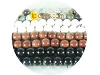 5 pieces 12mm different kind of gemstone strand on wholesale
