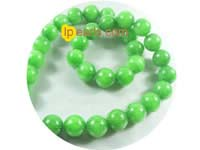 5 pieces 12mm grass green aragonite strand on wholesale