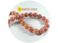 5 pieces 12mm red aventurine strand on wholesale