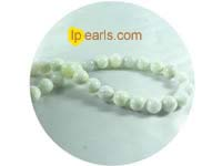 5 pieces 12mm white jade strand on wholesale