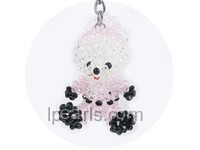 lovely and exquisite lucky Christmas bear key chain
