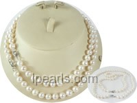 wholesale 8-9mm potato pearl Mother Daughter necklace