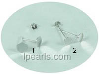 30 pieces sterling silver ear studs