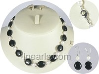 wholesale 6.5-7mm white akoya pearl sets