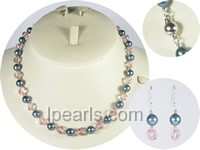 7.5-8mm black akoya pearl sets wholesale