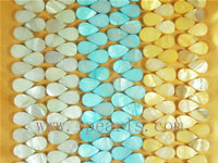 10×16mm three colors shell strands